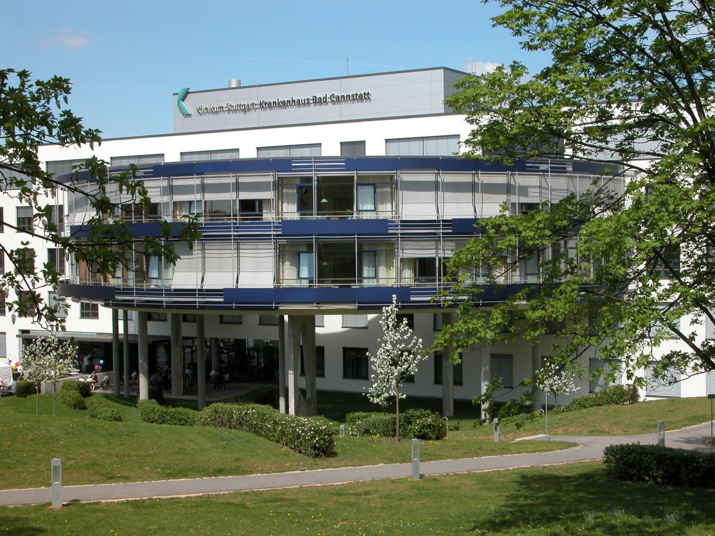 Außenaufnahme: das Adipositas-Zentrum am Krankenhaus Bad Cannstatt
